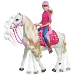Barbie Deluxe Dreamhorse Doll & Horse Toy Playset
