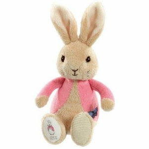Flopsy Bunny My First Bean Bag Soft Rattle Beatric Potter Baby Toy Peter Rabbit
