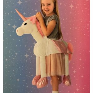 Childrens Girls Magical Unicorn Dress Up Outfit Fancy Dress Costume - 3-7 Years