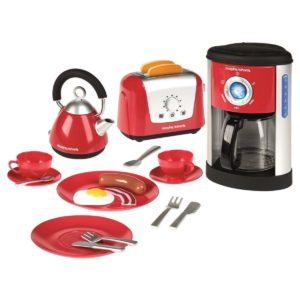 Casdon Little Cook Morphy Richards Kettle Toaster Coffee Playset & Accessories