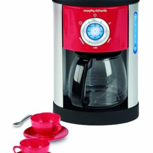 Casdon Morphy Richards Pretend Play Coffee Maker & Cups Toy Playset