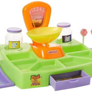 Casdon ChildrensPick & Mix Sweet Shop Toy Playset With Sweets & Lollipops