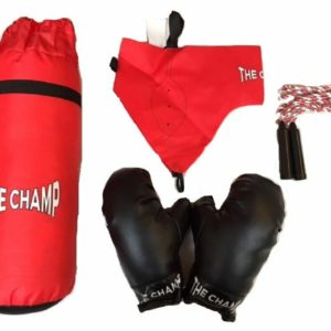 Chad Valley ''The Champ'' Childrens 5 Piece Boxing Playset Age 3+
