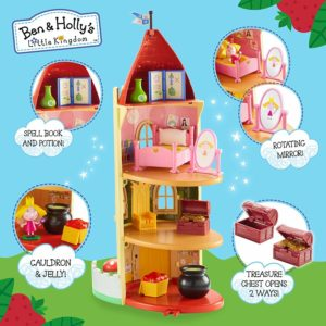 Ben and Holly Little Kingdom Thistle Castle Toy Playset & Accessories Figures