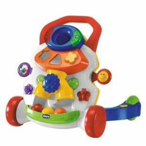 Chicco Baby Steps 2 In 1 Activity Walker Music & Sounds Interactive Toy 9-24m