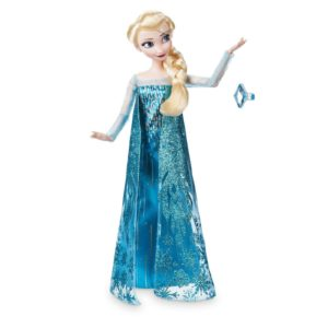 Disney Elsa Princess Classic Doll With Ring Accessory