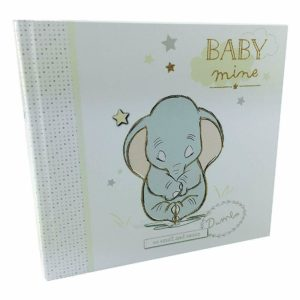 Disney Baby Dumbo Elephant Photo Album Keepsake Boxed