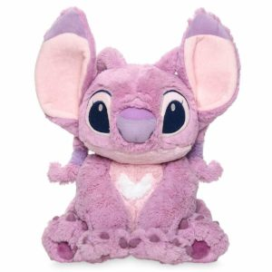 Disney Lilo & Stitch 37cm Medium Pink Angel Plush Soft Toy Doll