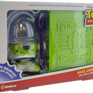 Disney Toy Story Buzz Lightyear Egg Cup & Toast Cutter Gift Set
