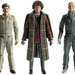 Doctor Who The 1970's Collectors Action Figure Figurine 4th Dr Brigadier Auton
