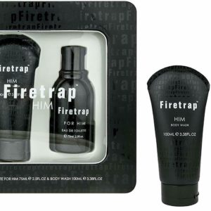Firetrap Him Eau De Toilette & Shower Gel Tin Gift Set for Men