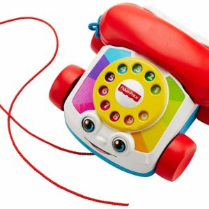 Fisher Price Pull Along Chatter Phone Telephone Toddler Learning Toy Playset 12m
