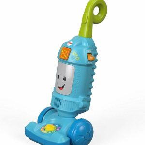 Fisher Price Light Up Learning Vacuum Playset Light Up Interactive Hoover Toy