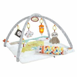 Fisher Price Perfect Sense Deluxe Gym Baby Infant Sensory Activity Playset