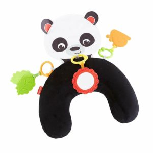 Fisher Price Hug & Play Tummy Wedge Panda Activity Toy Core & Neck Strength