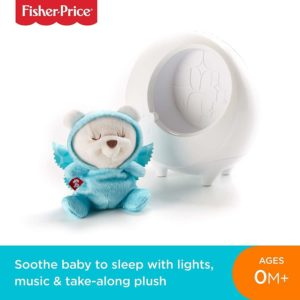 Fisher Price Butterfly Dreams 2 In 1 Baby Soother Light Projector & Music 0m+