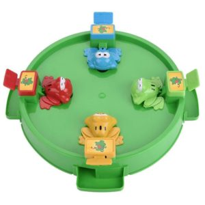 Hungry Frogs Kids Desktop 3D Frog Frenzy Board Game Toy Set Age 4+