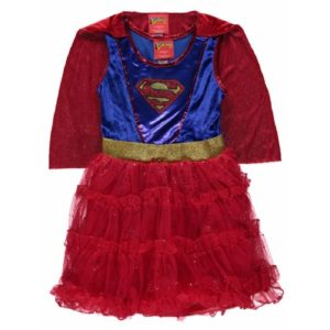 George Supergirl Fancy Dress Outfit Dressing Up Costume