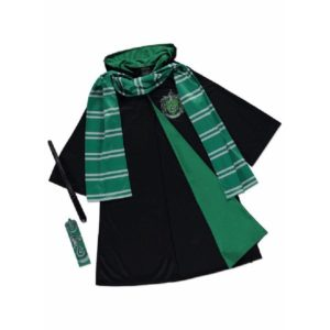 George Harry Potter Slytherin Draco Malfoy Robes Fancy Dress Costume Outfit