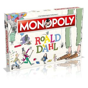 Hasbro Gaming Monopoly Roald Dahl Edition Board Game Mono Poly Age 8+