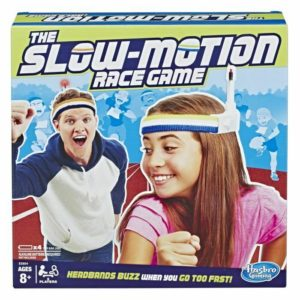 Hasbro Gaming The Slow Motion Race Game Family Fun Ready Set Slow Age 8+