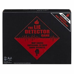 Hasbro Gaming The Lie Detector Game Adult Party Game Age 16+