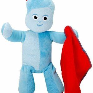 In the Night Garden LargFun Sounds Iggle Piggle Soft Plush Toy Doll Igglepiggle