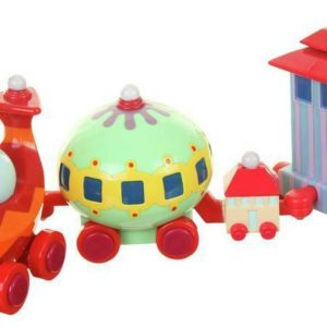 In the Night Garden Ninky Nonk Pull-Along Wobble Train Toy Playset
