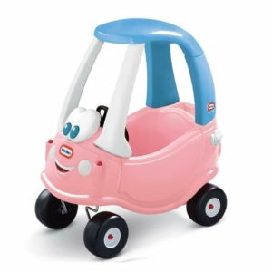 Little Tikes Cozy Coupe Pink Princess Ride On Kids Car Push Along Toy Cosy