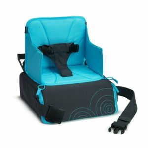 Munchkin Childrens Travel Booster Seat with Storage Space On The Go Dining 6-36m
