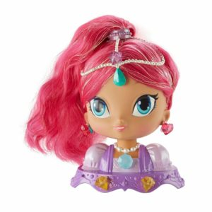 Nickelodeon Shimmer & Shine Shimmer Styling Head Toy Playset & Accessories