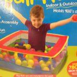 Pop Up Colourful Ball Pit 78 x 28cm
