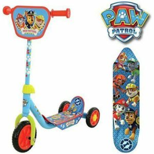 Paw Patrol Kids Childrens Push My First Tri Scooter 3 Wheel Age 3+ Nickelodeon
