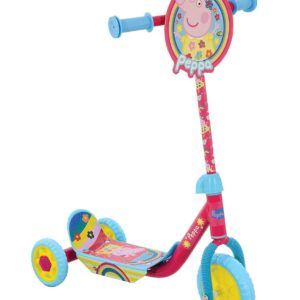 Peppa Pig Kids Childrens Peppa's Push My First Tri Scooter 3 Wheel Age 3+