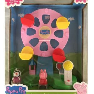 Peppa Pig Fair Ground Ferris Wheel Playset Lights & Sounds With Figures Age 3+
