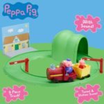 Peppa Pig Grandpa Pig's Train & Track Set With Sound Toy Playset