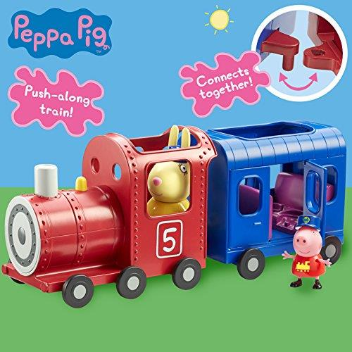 Peppa Pig Miss Rabbits Train and Carriage Playset With Figures Toy 3+