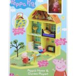 Peppa Pig House Home & Garden Playset With Accessories Toy 3+