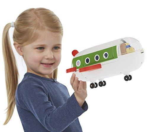 Peppa Pig Peppa''s Air Jet Plane With Acessories Rebecca Pilot Toy 3+