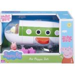 """Peppa Pig Peppa""""s Air Jet Plane With Acessories Rebecca Pilot Toy 3+"""