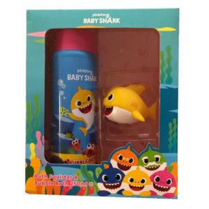 Baby Shark Bath Squirter & Bubble Bath Kids Bathtime Gift Set Pinkfong
