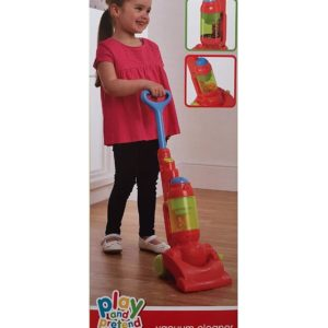 Play & Pretend Kids Childrens Vacuum Cleaner Hoover Toy Playset Age 3+