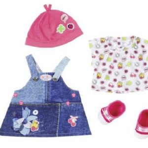 Zapf Creation Baby Born Baby Doll Jeans Denim Collection Outfit - Dress
