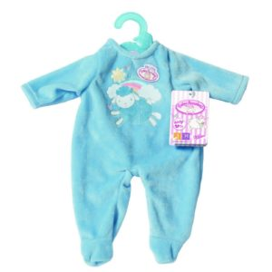 Baby Annabell My First Romper Outfit For 36cm Dolls Set Zapf Creation - Blue
