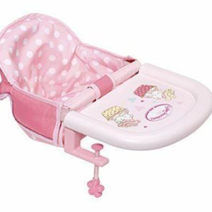 Zapf Creation Baby Annabell Feeding Chair Table Attachment Toy