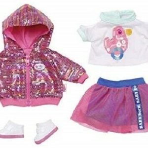 Zapf Creation Baby Born Deluxe City Style Doll Outfit Set For 43cm Dolls