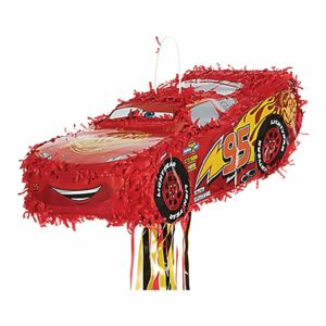 Disney Cars 3 Lightning McQueen Pinata Childrens Party Piñata Supplied Empty