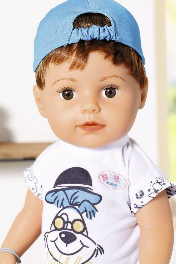 Zapf Creation Deluxe Baby Born Brother Soft Touch 43cm