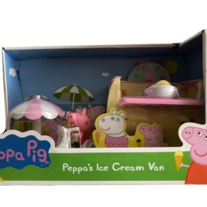 Peppa Pig Ice Cream Truck Van Playset With Figure Toy Playset & Accessories
