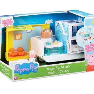 Peppa Pig Peppa's Mobile Medical Centre Toy Playset & Figures Age 3+